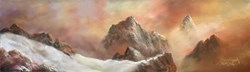 To the Summit III by Philip Gray -  sized 24x7 inches. Available from Whitewall Galleries
